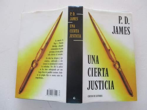 9788422673040: Una cierta justicia