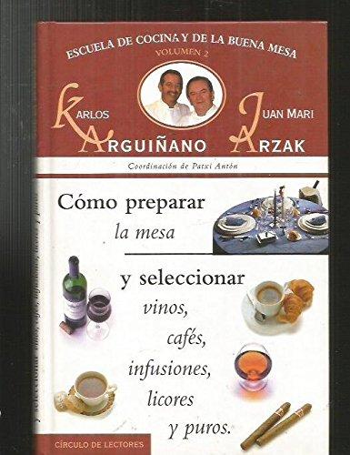 9788422674429: Escuela de cocina y de la buena mesa, 2. Cómo ...
