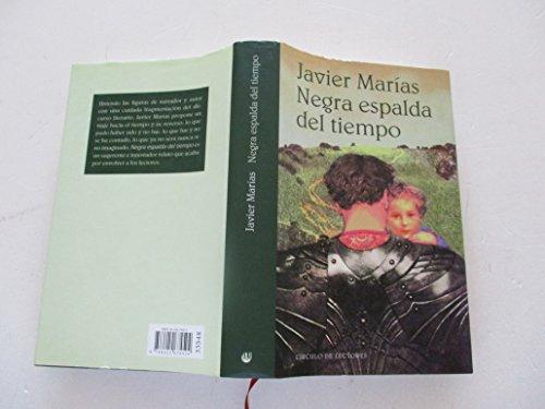 Negra espalda del tiempo: Javier Marías