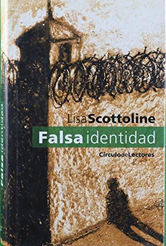 9788422688983: Falsa identidad
