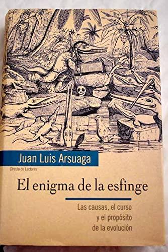 9788422690924: El enigma de la esfinge: las causas, el curso y el propósito de la evolución
