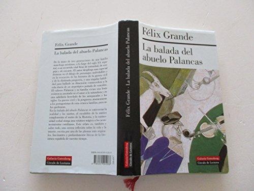 9788422698937: La balada del abuelo Palancas
