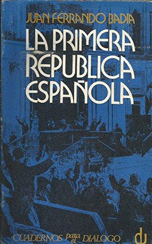 9788422901488: Historia político-parlamentaria de la República de 1873 (Divlugación universitaria, no. 48. Serie historia) (Spanish Edition)