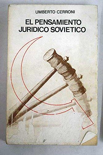 9788422902171: El pensamiento jurídico soviético (Serie Filosofía y derecho) (Spanish Edition)