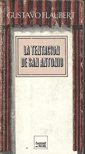 9788422920489: La tentación de San Antonio