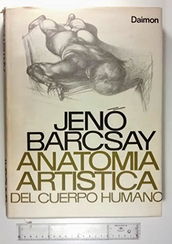 9788423106851: Anatomía artística del cuerpo humano