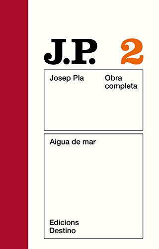 9788423304615: Aigua de mar (Obra completa / Josep Pla) (Catalan Edition)