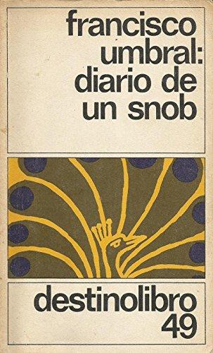 9788423309702: Diario de un snob
