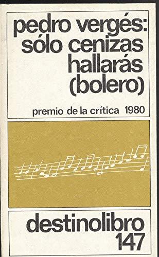 9788423311545: Solo Cenizas Hallaras (Spanish Edition)