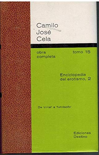 9788423311750: Enciclopedia del erotismo (t.2)
