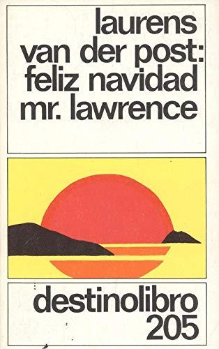 9788423312702: Feliz navidad mr. lawrence