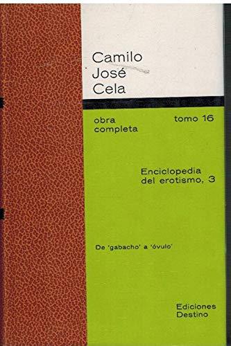 9788423312979: Enciclopedia del erotismo (t.3)