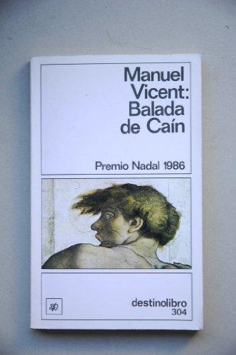 9788423318353: Balada de Cain Premio Nadal 1986