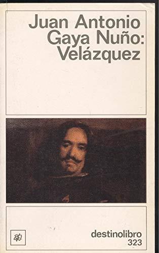 9788423320110: Velazquez (Destinolibro 323)