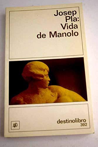 9788423326617: VIDA MANOLO. DL-392.