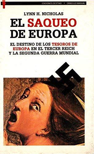 9788423326853: El saqueo de Europa