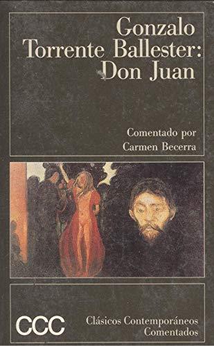 9788423329465: Don Juan (Clásicos contemporáneos comentados) (Spanish Edition)