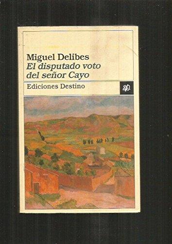 9788423331390: El Disputado Voto Del Senor Cayo
