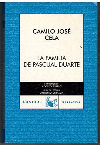9788423339044: LA FAMILIA DE PASCUAL DUARTE (AUSTRAL NARRATIVA)