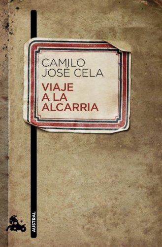 9788423342372: Viaje a la Alcarria (Narrativa)