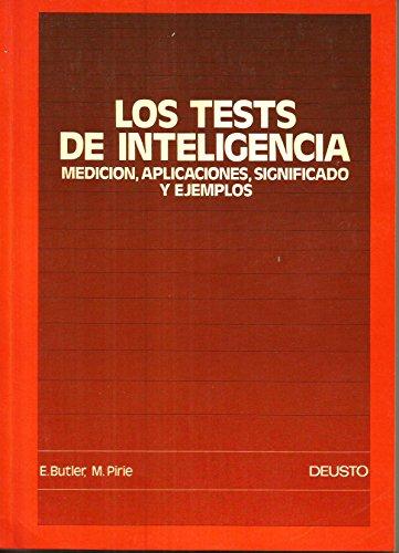 9788423407125: Tests de inteligencia,los