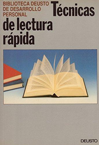 9788423407422: Tecnicas de lectura rapida
