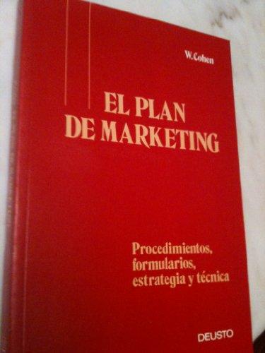 9788423408177: Plan de Marketing, El