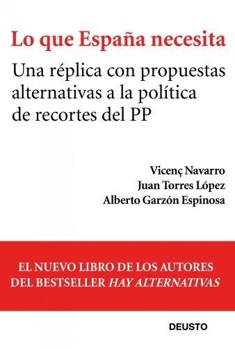 9788423412839: Lo que España necesita