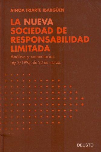 9788423413645: La nueva sociedad de responsabilidad limitada (Spanish Edition)