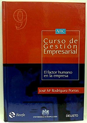 9788423417193: El factor humano en la empresa