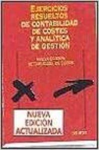 9788423418718: EJERCICIOS RESUELTOS DE CONTABILIDAD DE COSTES Y ANALITICA DE GES TION
