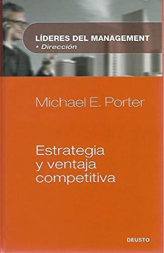 9788423423835: Estrategia y ventaja competitiva (Lideres Del Management: Direccion)