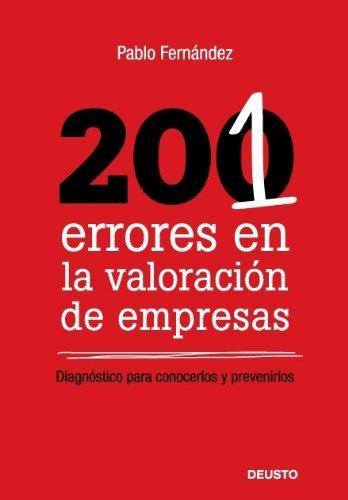 9788423426294: 201 errores en la valoracion de empresas: Diagnóstico para conocerlos y prevenirlos