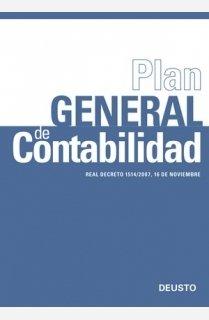 9788423426829: Plan General de Contabilidad: Real Decreto 1514/2007, 16 de noviembre (FINANZAS Y CONTABILIDAD)