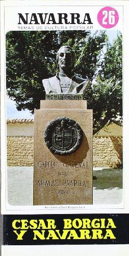 9788423502264: César borgia y Navarra