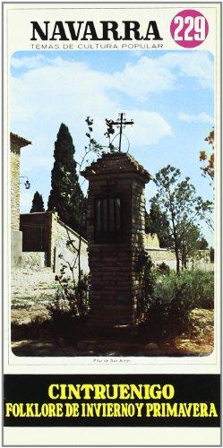 9788423502585: Cintruenigo - Folklore de Invierno y Primavera