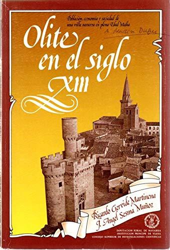 OLITE EN EL SIGLO XIII: POBLACION, ECONOMIA Y SOCIEDAD DE UNA VILLA NAVARRA EN PLENA EDAD MEDIA: ...