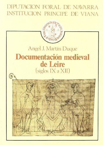 9788423506255: Documentacion medieval de leire (siglos IX a XII)
