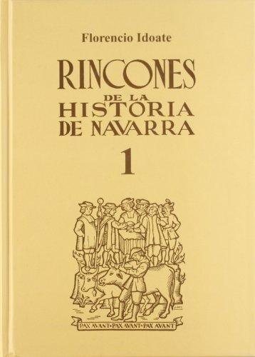 9788423515790: Rincones de la historia de Navarra 1