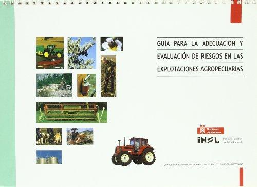 9788423520916: Guia para la adecuacion y evaluacion de riesgos en explotaciones agr.