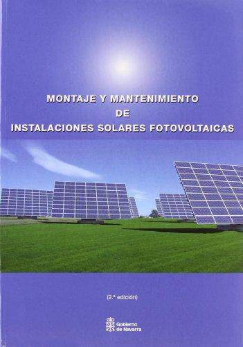 9788423532414: Montaje y mantenimiento de instalaciones solares fotovoltaicas