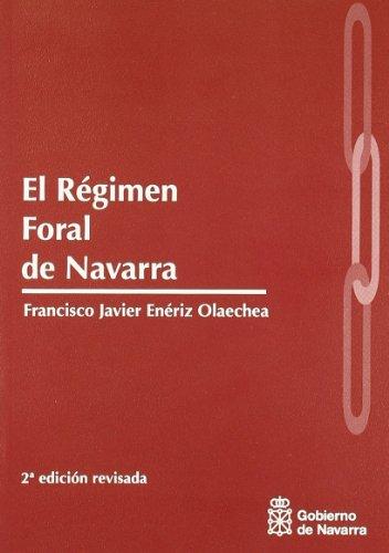 9788423532438: Regimen foral de Navarra, el
