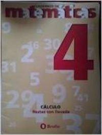 9788423651795: Matemáticas, Educación Primaria, 1 ciclo. Cuaderno 4