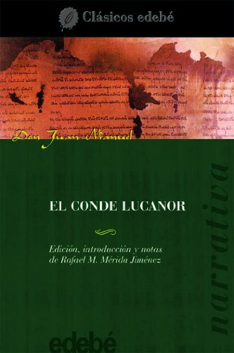 9788423655427: El Conde Lucanor / The Count Lucanor (clasicos edebe / Edebe Classics) (Spanish Edition)