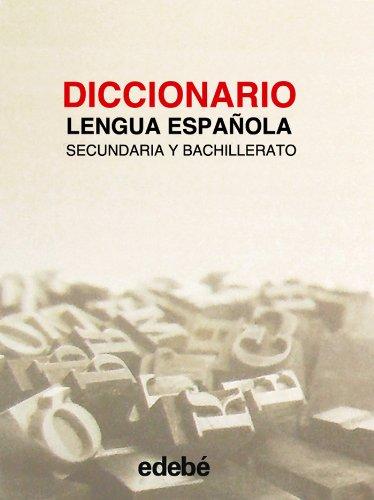 9788423660070: Diccionario lengua española secundaria y bachillerato
