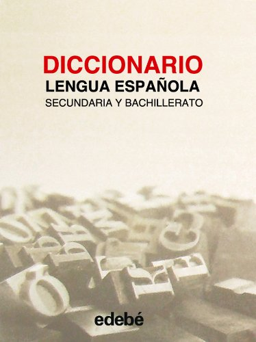 9788423660070: Diccionario de lengua espanola de secundaria y bachillerato (Spanish Edition)