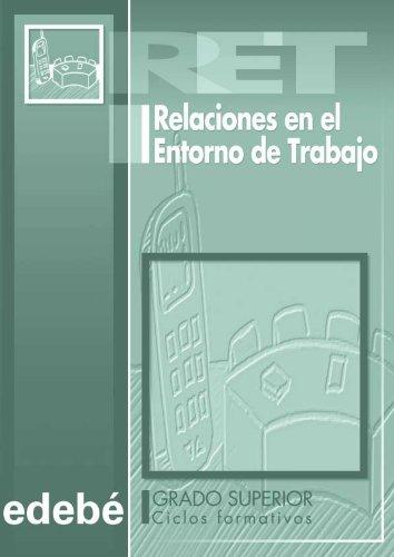 9788423663927: RELACIONES EN EL ENTORNO DE TRABAJO