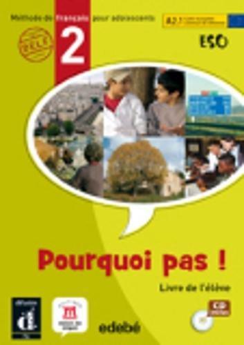 9788423669738: Pourquoi Pas ! 2 - Libro del alumno + CD (ESO) - 9788423669738