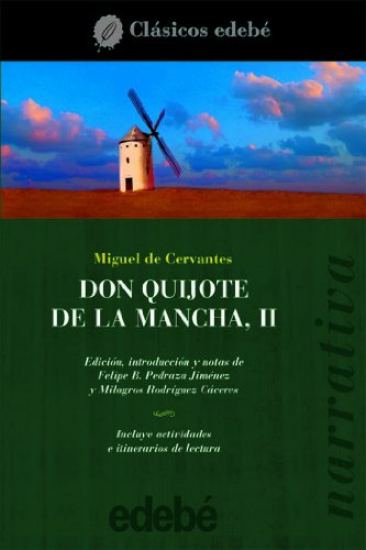 9788423670345: Don Quijote de La Mancha II: 2 (CLÁSICOS EDEBÉ)