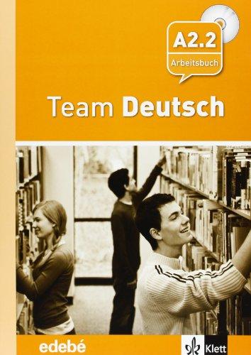 9788423670666: Team Deustch 4 Arbeitsbuch - Cuaderno de ejercicios + CD Nivel A2.2 - 9788423670666